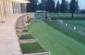 Golf Tee Deck Netting
