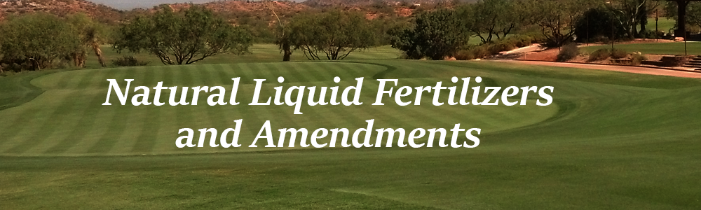 Desert Mountain Turf Fertilizers and Amedments